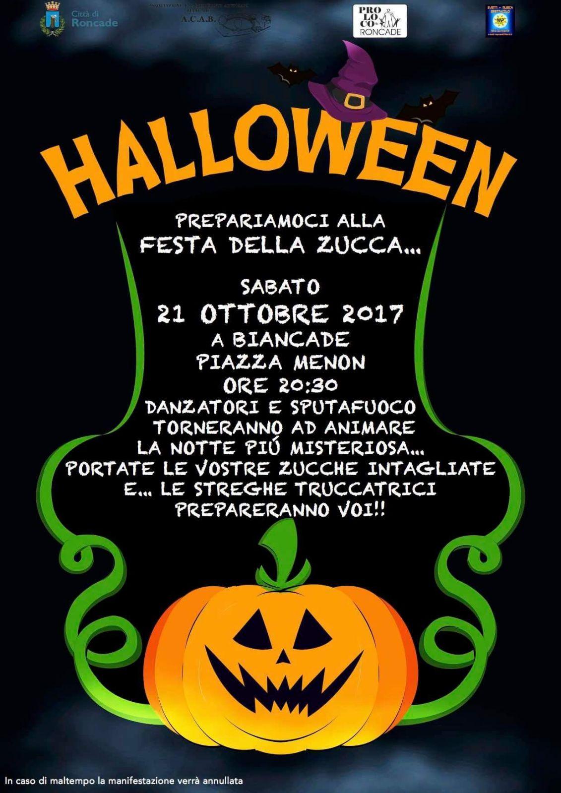 Foto Di Halloween.Festa Di Halloween Citta Di Roncade